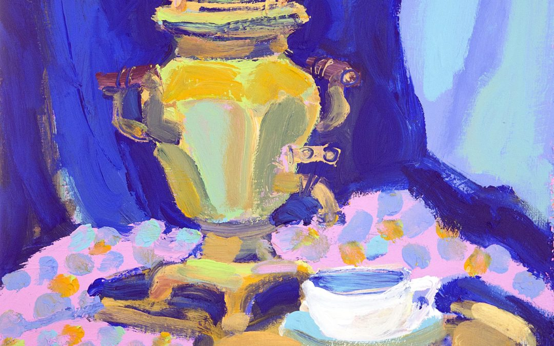 Nature morte, samovar