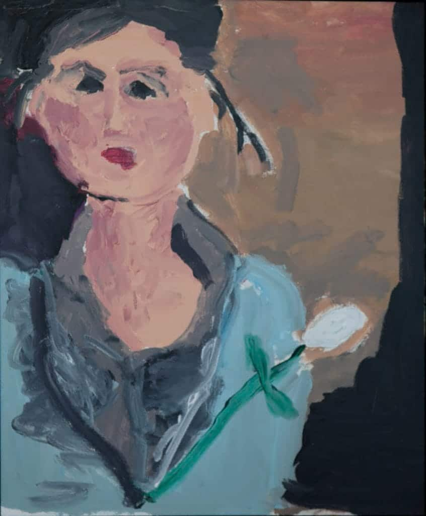 Portrait of the Carpenter Woman